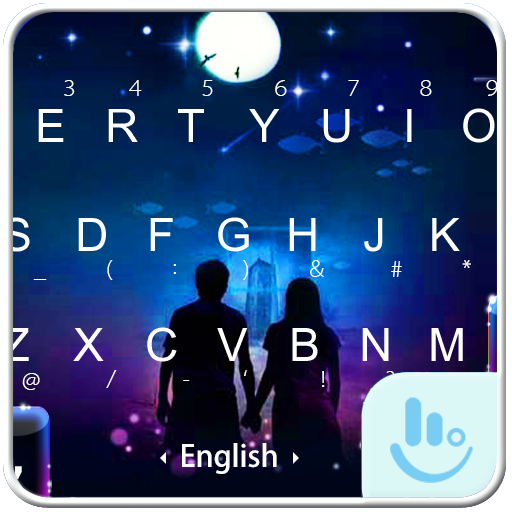 Under The Moon Keyboard Theme Android APK Download Free By +HOME By Ateam