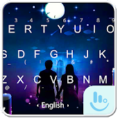 Under The Moon Keyboard Theme Android APK Download Free By Fashion News