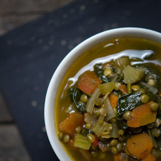 Lentil & Spinach Soup