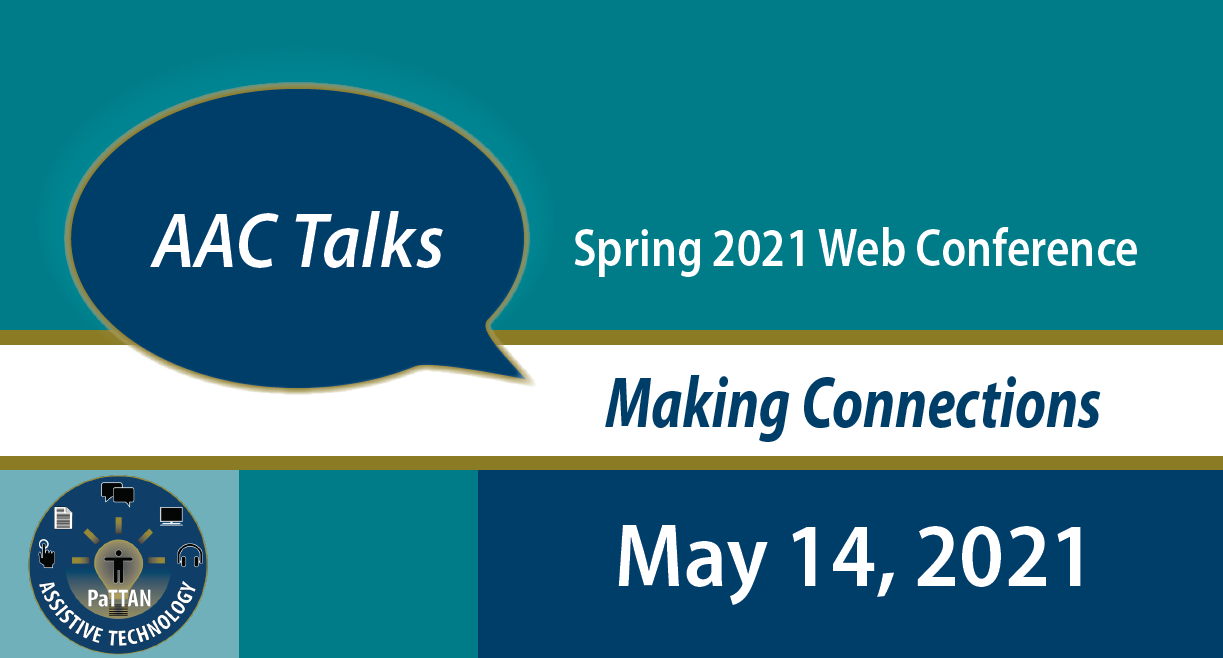 AAC Talks 2021 Web Conference-Making Connections May 14, 2021 logo