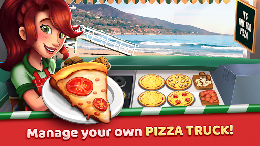 Pizza Truck California - Fast Food Cooking Game 1.0 de.gamequotes.net 1