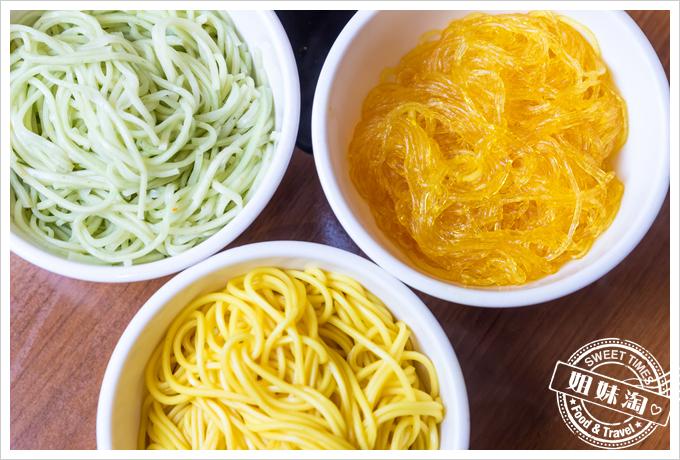 上竹林食草館養生汆燙鍋-麵條
