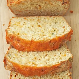 Cheesy Beer Quick Bread.