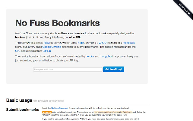 No Fuss Bookmarks
