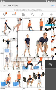 FitnessBuilder Screenshot
