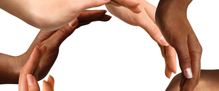 ידיים משולבות