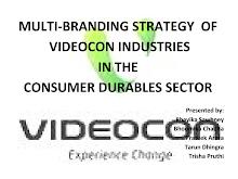 PROJECT ON MULTIBRAND STARTEGY OF VIDEOCON
