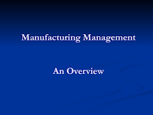 Manufacturing Management