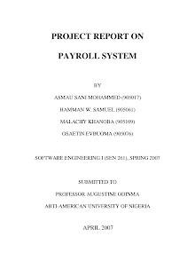 Employee Payroll System Project in Java