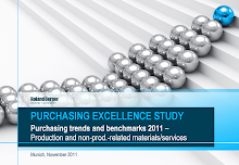 Study on Structure of the Purchasing Excellence Study