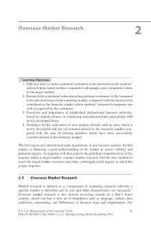 Market Research Study on Overseas Market Research