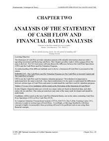 Fundamentals of Cash Flows and Financial Ratio Analysis