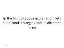 SYBMS STM NOTES - Grand Strategies and its Different Forms