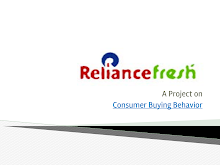 Reliance fresh retail outlet