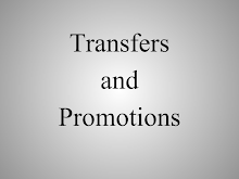Transfers and promotion PPT