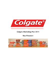 Colgate Marketing Plan 2011