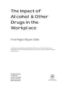 Project Research on Impact of Alcohol & Other Drugs in the Workplace