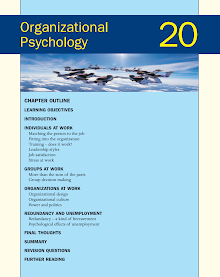Organizational Psychology - Work