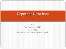 PRESENTATION ON DENA BANK