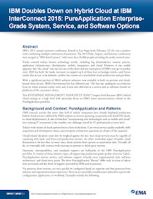 Case Study on PureApplication EnterpriseGrade System, Service - IBM