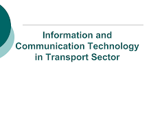 Information Technology in Transport Sector
