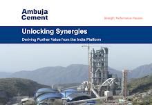 Ambuja and ACC footprint