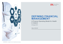 Report Study in Finance Operating Model for Health in Ireland