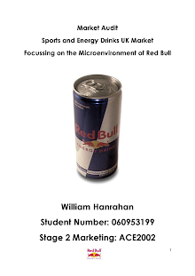 Study on Market Audit of Red Bull Energy Drinks
