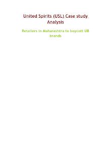 United Spirits - Retailer Boycott Case