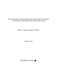 Project Study on Contributions of Information and Communication Technologies