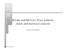 Price Patterns, Charts and Technical Analysis - Smoke and Mirrors
