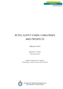 A Study on Retail Supply Chain - Challenges and Prospects