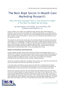 Study on Health Care Marketing Research