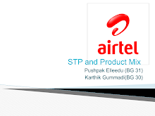 PROJECT ON AIRTEL PRODUCT MIX