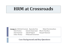 HRM at cross roads