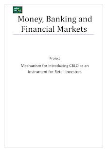 Money Markets: CBLO