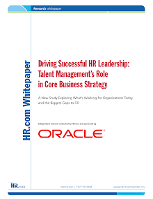 Driving Successful HR Leadership: Talent Managements Role in Core Business Strategy
