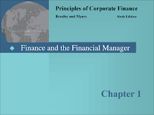 Study on Principles of Corporate Finance