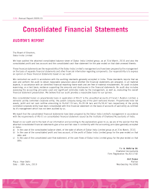 Financial Study on Consolidated Financial Statements