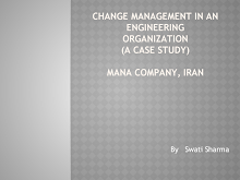 Chanage management