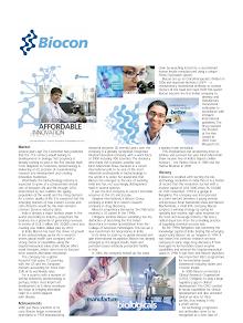 Biocon Marketing Report