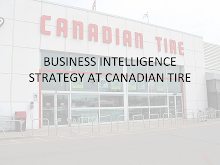 Business Intelligence Strategy at Canadian Tyre