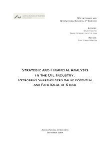 Financial Study on Strategic and Financial Analysis in the Oil Industry