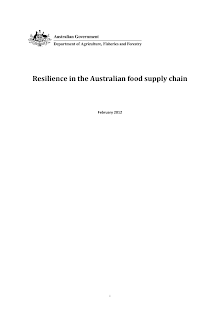 Supply Chain Study on Australian Food