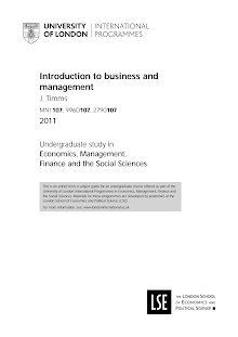 Introduction to business and management