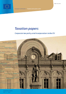 Corporate tax policy and incorporation in the EU