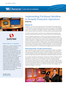 Case Study on Safeway Inc