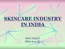 PROJECT ON SKIN CARE INDUSTRY IN INDIA