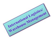 International Logistics and Warehouse Management