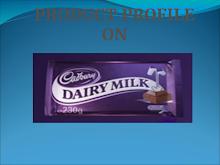 Presentation on Cadbury Dairy Milk: Marketing